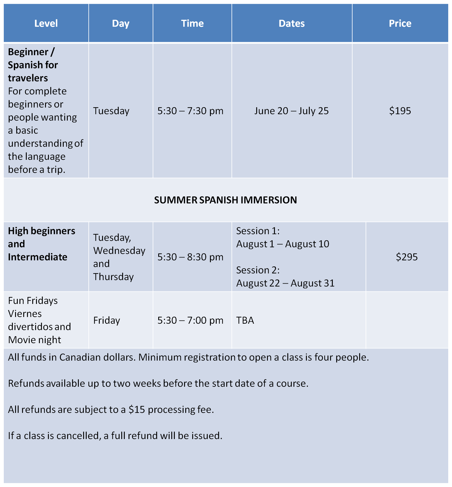 horario-summer-2017-adultos