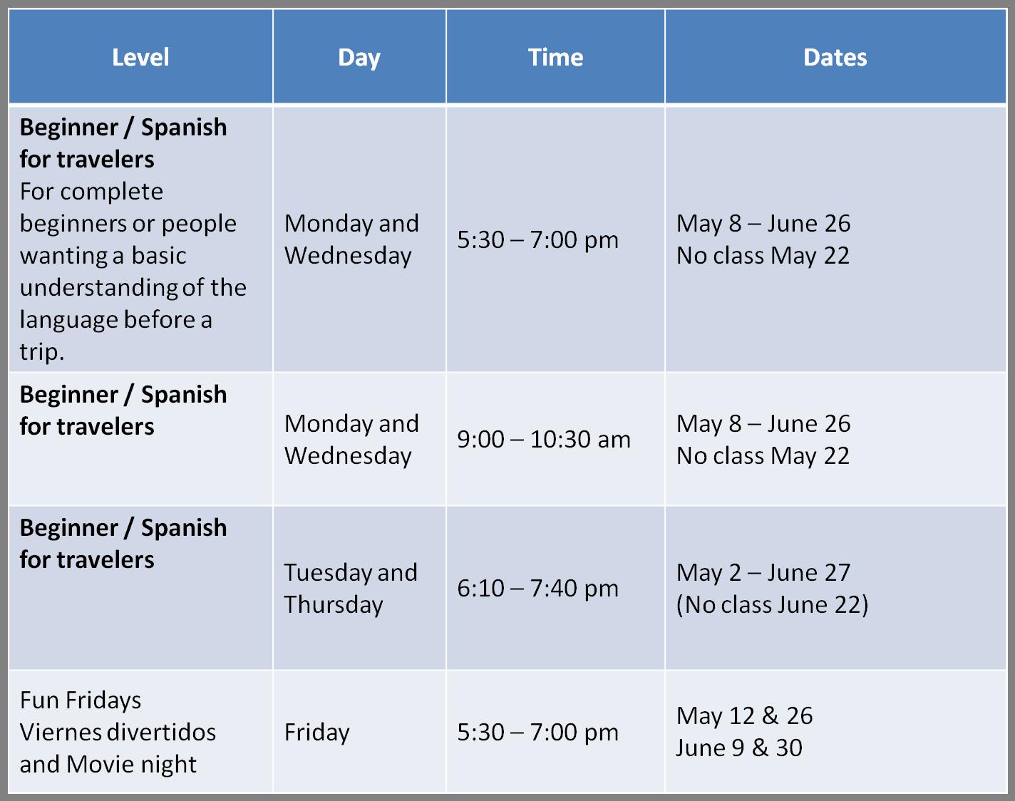 schedule-spring-2017